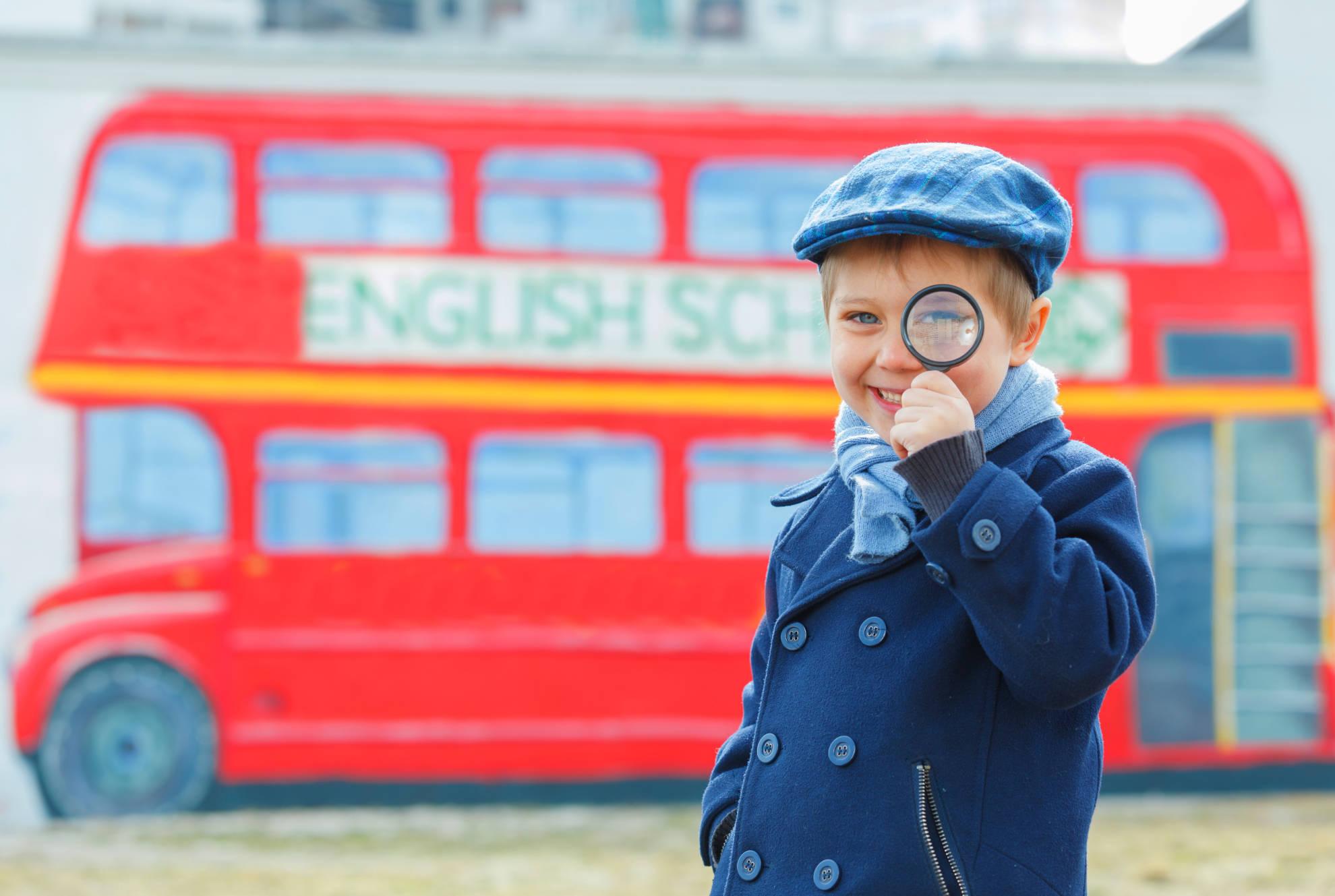 Clases de inglés para niños de primaria