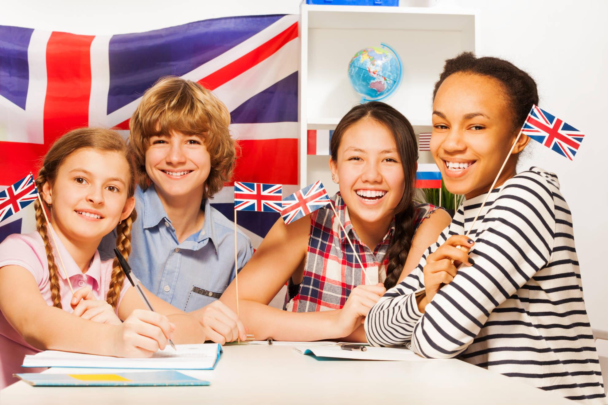 Clases de inglés para niños de secundria